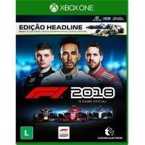 Xbox One - Fórmula 1 - F1 2018 Edição Headline - Codemasters