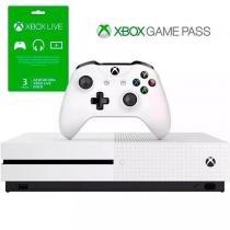 Xbox One S 1TB + 3 Meses Live Gold+ 3 Meses de Gamepass - Microsoft