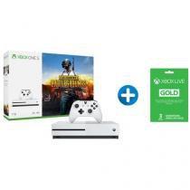 Xbox One S 1TB Microsoft 1 Controle com 1 Jogo - via Download + Cartão Microsoft Xbox Live Gold
