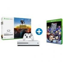 Xbox One S 1TB Microsoft 1 Controle com 1 Jogo - via Download + South Park A Fenda Que Abunda Forç