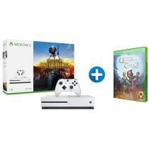 Xbox One S 1TB Microsoft 1 Controle com 1 Jogo - via Download + The Book of Unwritten Tales 2