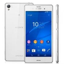 Xperia Z3 Android 4.4 Tela 5.2 16Gb 4G Dual Chip 20.7Mp Branco D6633 Sony -