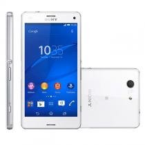 Xperia Z3 Compact 4G Android 4.4 20.7Mp 4.6 Quad Core Branco D5833 Sony -