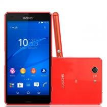 Xperia Z3 Compact 4G Android 4.4 20.7Mp 4.6 Quad Core Laranja D5833 Sony -