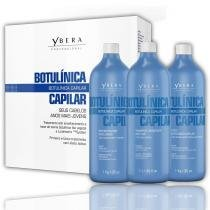 Ybera Kit Botulínica Capilar Shampoo, Ativo Botulínico e Reconstrutor Inteligente - 3x1L - Ybera