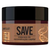Yenzah Save Máscara de Reconstrução Capilar - 300g - Yenzah