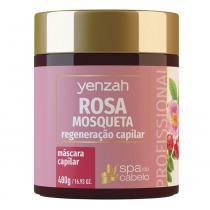 Yenzah Spa do Cabelo Máscara Rosa Mosqueta Regeneração Capilar - 480g - Yenzah
