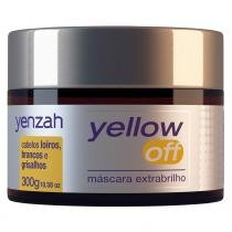 Yenzah Yellow Off - Máscara Extra Brilho Desamareladora - 300g - Yenzah