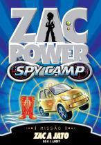 Zac power spy camp - zac a jato - Fundamento