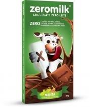 Zeromilk Chocolate Zero Leite - Genevy - Menta - 80g -