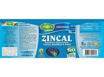 Zincal Dolomita com Zinco 60 cápsulas Unilife -