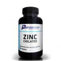 Zinco Quelato 100 Tabletes Performance Nutrition - Performance Nutrition
