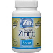 Zinco Quelato 60 Cápsulas - Stem Pharmaceutical
