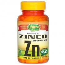 Zinco Quelato cápsulas 60 cápsulas Unilife -