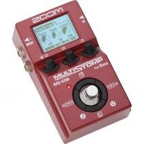 Zoom MS-60B - Multistomp Pedal multiefeitos para Baixo - Zoom