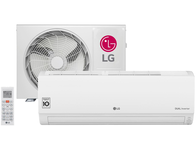 f487e176c Ar-condicionado Split LG Inverter 9.000 BTUs - Frio Dual Inverter S4Q09WA5WB