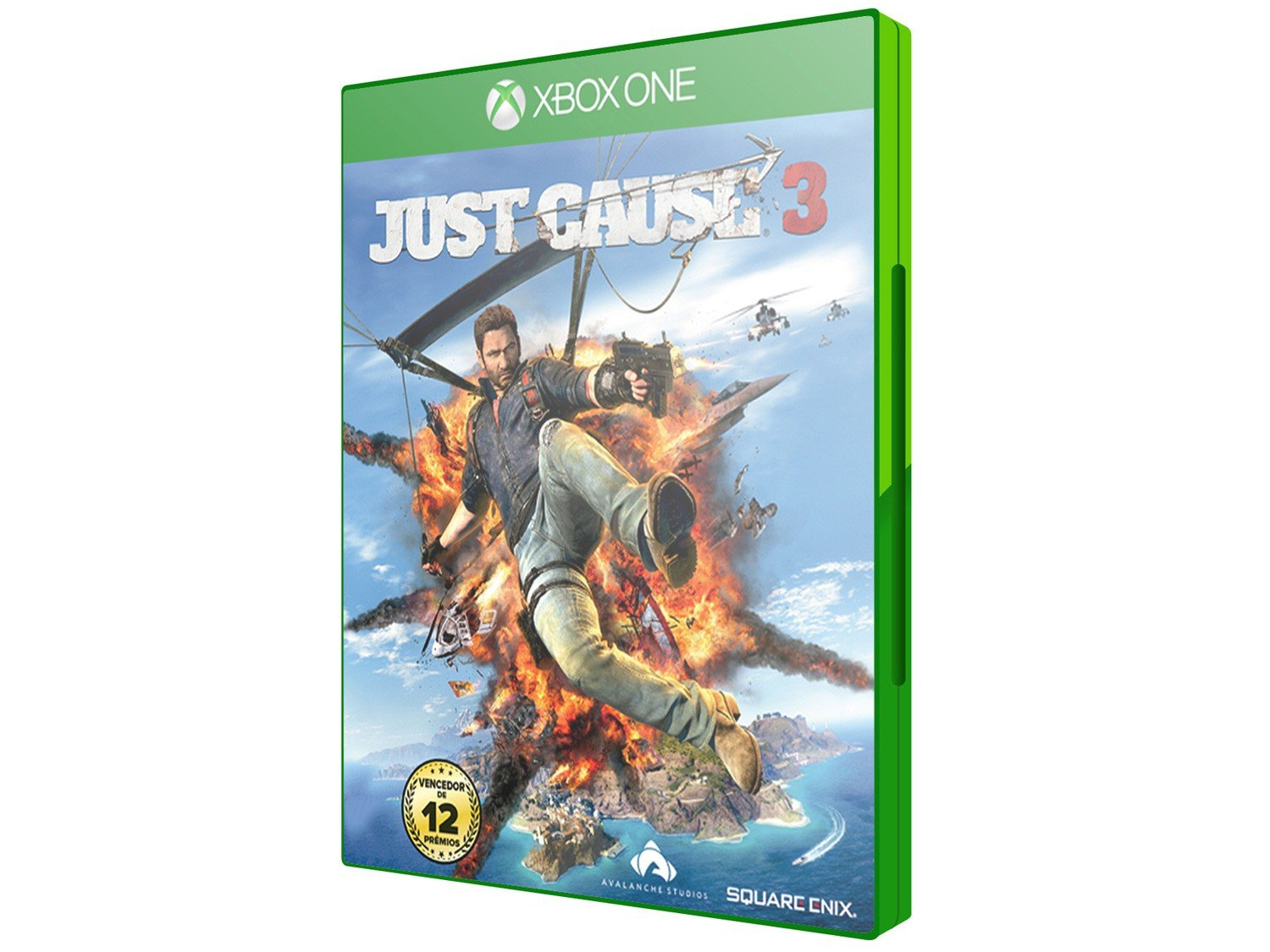 just cause 3 edi o day one para xbox one square enix. Black Bedroom Furniture Sets. Home Design Ideas