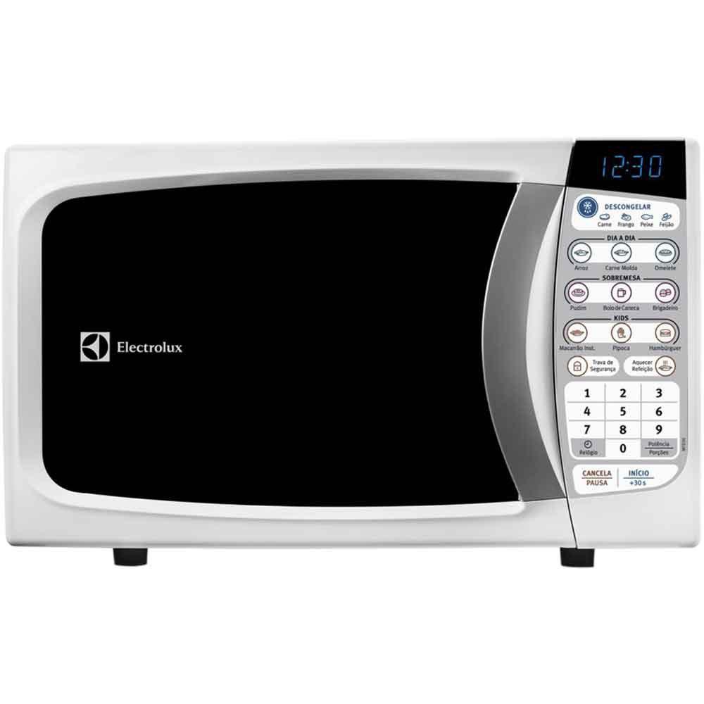 microondas 20l branco 127v mtd30 electrolux 110v. Black Bedroom Furniture Sets. Home Design Ideas