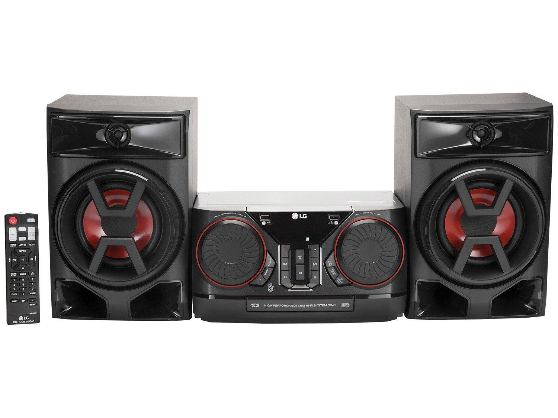 8fc407b0e3 Mini System LG Bluetooth USB CD Player FM MP3 220W 2 Caixas Xboom ...