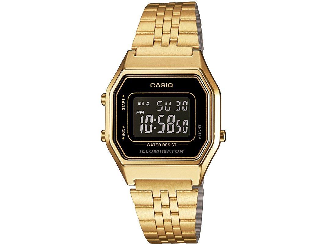 293813b3192 Relógio Feminino Casio Digital Vintage LA680WGA-1BDF - Relógio ...