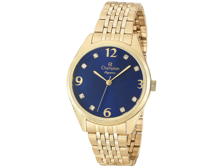 1443f529128 Relógio Feminino Champion Analógico Resistente à Água CN26251A ...