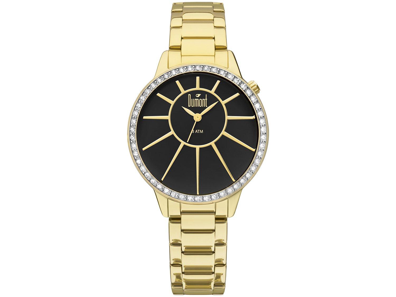 72f35ef9967d9 Relógio Feminino Dumont Analógico Metal DU2035LVH 4P - Relógio ...