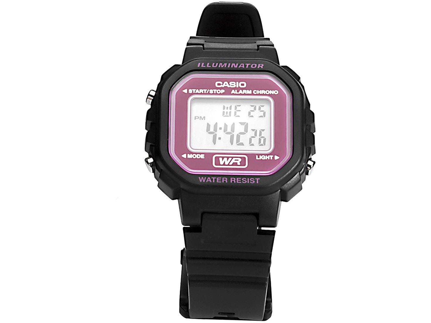 7aa29f3d110 Relógio Feminino Esportivo Digital Casio - LA-20WH-4ADF - Relógio ...