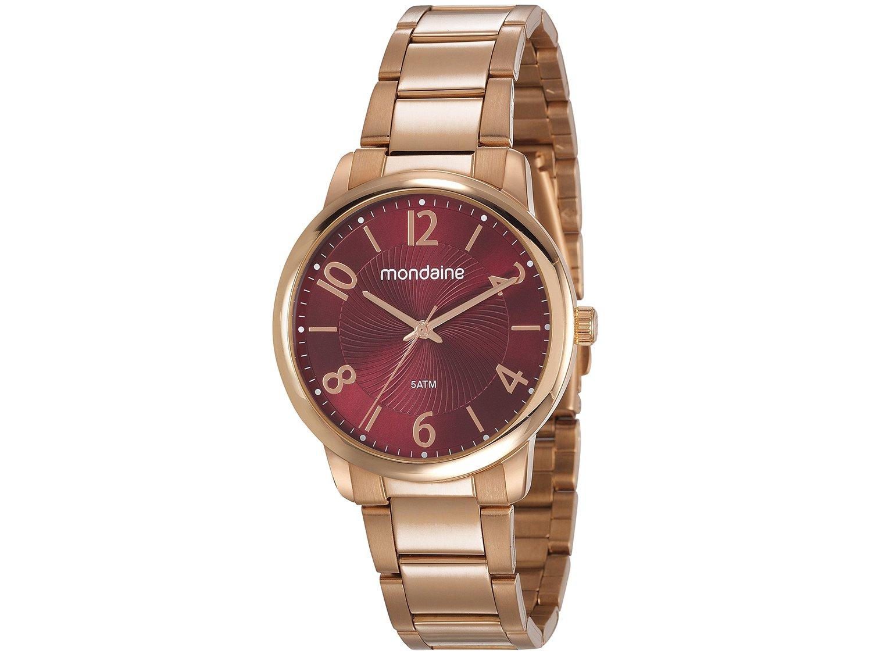 993e0ab8559 Relógio Feminino Mondaine Analógico 53738LPMGRE2 - Relógio Feminino ...
