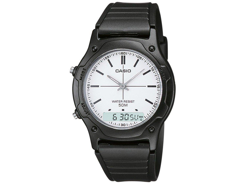 3452a3f886e Relógio Masculino Casio Anadigi AW-49H-7EVDF - Relógio Masculino ...