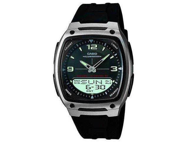 48e1aac34f4 Relógio Masculino Casio Anadigi Mundial AW-81-1A1VDF - Relógio ...