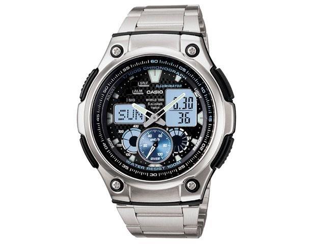 894ba09a0c7 Relógio Masculino Casio Anadigi - Resistente à Água Cronógrafo AQ-190WD-1AV