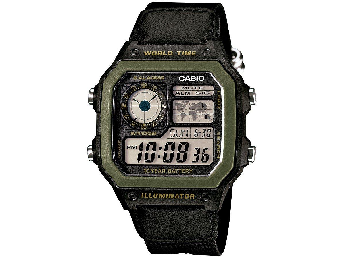 e9868998684 Relógio Masculino Casio Digital AE-1200WHB-1BVDF - Relógio Masculino ...