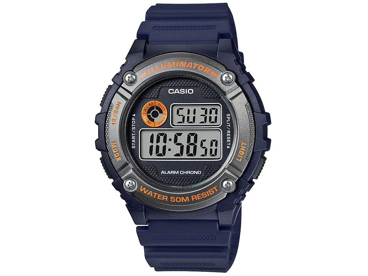 b81c7d1594e Relógio Masculino Casio Digital W-216H-2BVDF - Relógio Masculino ...