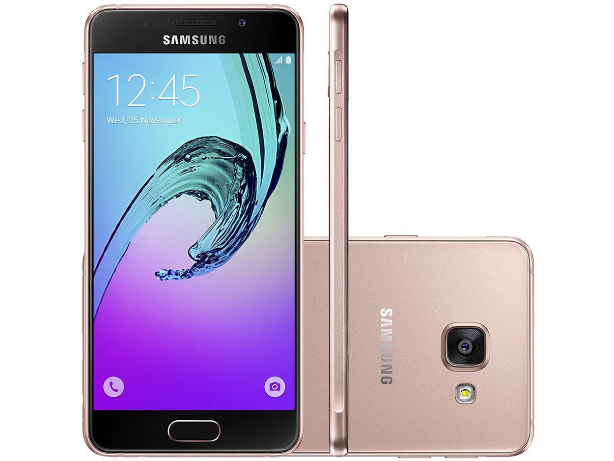 smartphone samsung galaxy a3 2016 16gb ros dual chip 4g. Black Bedroom Furniture Sets. Home Design Ideas