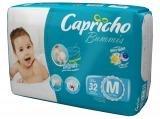 Fralda Capricho Bummis Tam M 32 Unidades - Tecnologia Respirável