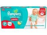 Fraldas Pampers Pants Confort Sec Tam. P - 46 Unidades