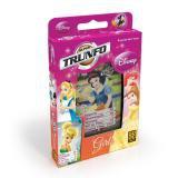 Jogo de Carta Baralho Princesas Disney 6 Jogos Clássicos Grow