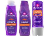 Kit Aussie Tratamento Smooth 3 Minute Mirac 236ml - com Shampoo Miraculously Smooth + Condicionador