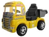 Mini Caminhão Elétrico Infantil Big Truck - Emite Sons Magic Toys