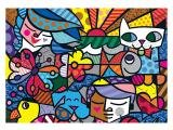 Quebra-Cabeça 5000 Peças Puzzles - P5000 Romero Britto Grow