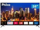 "Smart TV 4K LED 58"" Philco PTV58F60SN Wi-Fi - 3 HDMI 2 USB"