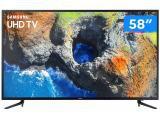 "Smart TV 4K LED 58"" Samsung 58MU6120 Wi-Fi - Conversor Digital 3 HDMI 2 USB"