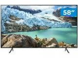 "Smart TV 4K LED 58"" Samsung UN58RU7100 - Wi-Fi HDR Conversor Digital 3 HDMI 2 USB"