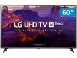 "Smart TV 4K LED 60"" LG 60UK6200 Wi-Fi HDR - Inteligência Artificial Conversor Digital 3 HDMI"