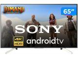 "Smart TV 4K LED 65"" Sony KD-65X755F - Android Wi-Fi 4 HDMI 3 USB"