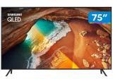 "Smart TV 4K QLED 75"" Samsung QN75Q60RAG - Wi-Fi HDR 4 HDMI 2 USB"