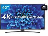 """Smart TV LED 40"""" Samsung 4K/Ultra HD 40KU6000 - Conversor Digital Wi-Fi 3 HDMI 2 USB"""