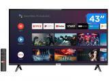 "Smart TV LED 43"" TCL 43S6500 Full HD - Android Wi-Fi Conversor Digital 2 HDMI 1 USB"