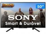 """Smart TV LED 50"""" Sony Full HD KDL-50W665F - Conversor Digital Wi-Fi 2 HDMI 2 USB"""