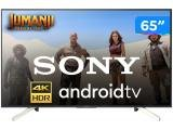 "Smart TV LED 65"" Sony 4K/Ultra HD KD-65X755F - Android Conversor Digital Wi-Fi 4 HDMI 3 USB DLNA"
